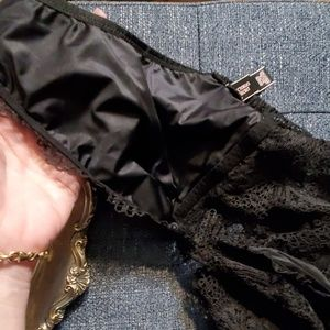Victoria's Secret Intimates & Sleepwear - Victoria's Secret Black Lace Bralette XL